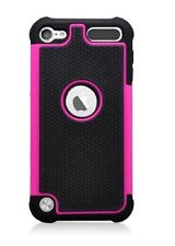 Apple iPod Touch 5 6 Gen Heavy Duty Hybrid silicone Hard Case Cover