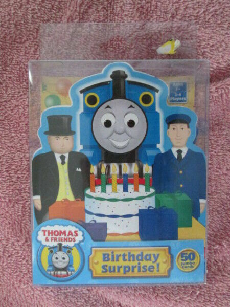 Thomas Game Friends Birthday Surprise Card Briarpatch 2007
