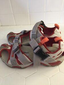 f9c80752e TEVA Women s KARNALI WRAPTOR GRAY Rust Water Sport Sandals 6970 - US ...