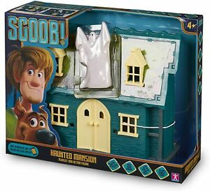 Scooby Doo SCOOB Haunted Mansion Toy Playset & Ghost Action Figure Set