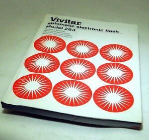 vivitar 283 electric flash manual guide instruction 110 pages rh ebay com Vivitar Telescope Instruction Manual vivitar 283 user manual