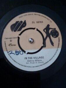 Delroy-Wilson-In-The-Village-Vinyl-7-034-US-Reggae-Import-Single-DL-5070