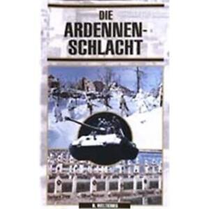 Die-Ardennenschlacht-VHS-Video-2-Weltkrieg-1944-Wehrmacht-Westfront-Alliierte