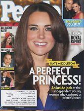 KATE MIDDLETON PRINCE WILLIAM People Magazine December 6, 2010 12/6/10 B-1-1