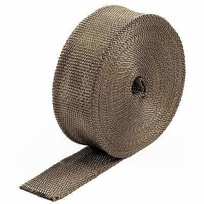 Fiducioso 2.5cm X 7.5m Vulcano Collettore Di Scarico Heat Wrap Cafe Racer/harley & Fascette- Gradevole Al Gusto