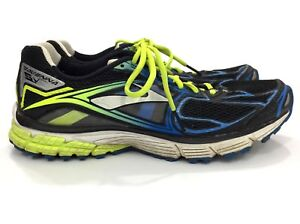 84d78ec1a61 Brooks Ravenna 5 Black Yellow Running Shoes Men Size 11.5 Medium D ...
