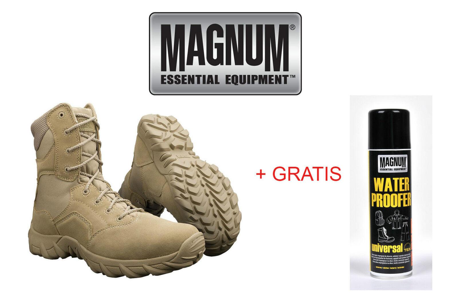 MAGNUM Hi-Tec Cobra 8.0 Desert Stiefel Boots Army Schuhe Kampfstiefel Gr.36~48