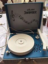 Working De Jay Swinger Model SP5 Record Player