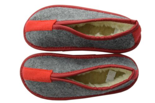 Kids Children Girls Boys Natural Virgin Wool Felt Slippers