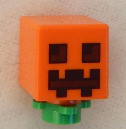 NEW LEGO MINECRAFT PUMPKIN MINIFIG figure minifigure 21114 21120 21123