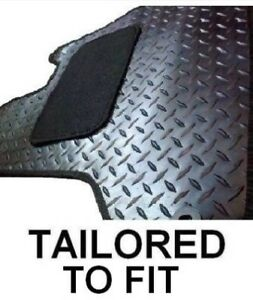 For Fiat Ducato 94 06 Motorhome Fully Tailored Rubber Floor Mats
