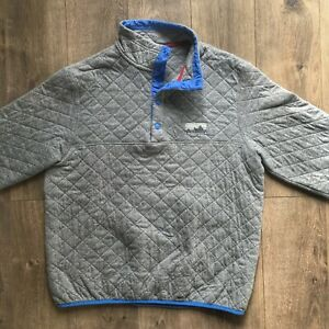 Rare 40th Ann Patagonia Organic Cotton Quilt Snap T