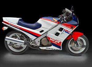 24-034-X-30-034-High-Definition-PHOTOGRAPH-Poster-of-Honda-VFR750F-1986