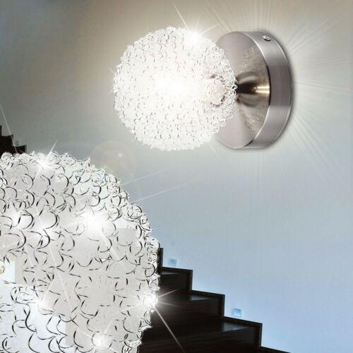LED Wand Lampe Schlaf Zimmer Nacht Licht Strahler Kugel Treppenhaus Beleuchtung