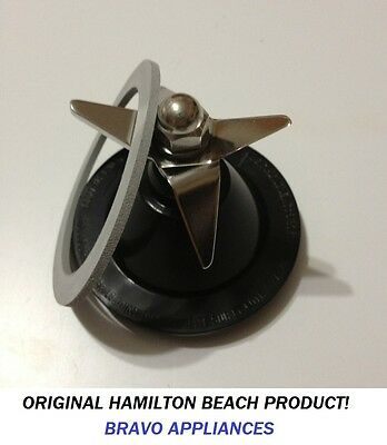 Hamilton Beach Black Commercial Blade with Sealing Ring Gasket ALL ORIGINAL!