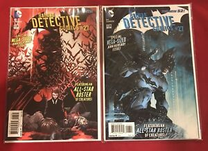 Batman-Detective-Comics-The-New-52-27-Jim-Lee-amp-Fabok-Set-of-2-Variants-DC