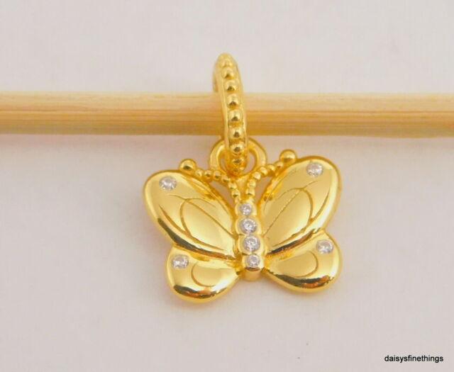 Authentic PANDORA Shine Decorative Butterfly Pendant 367962CZ