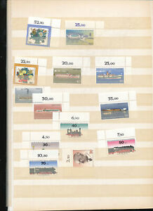 544045-Berlin-MNH-Lot-meist-Ecken-mit-Zuschlagsmarken