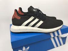 314b99ec24c55 Adidas Original Men s Swift Run Size 9 Core Black Grey B37730 NEW