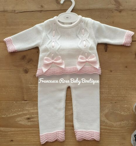 Girls Spanish Two Piece Knitted Set