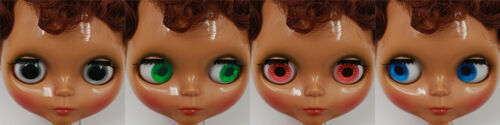 """12/"""" Neo Blythe Doll Dark Skin Hair Nude Doll from Factory JSW77012+Gift"""