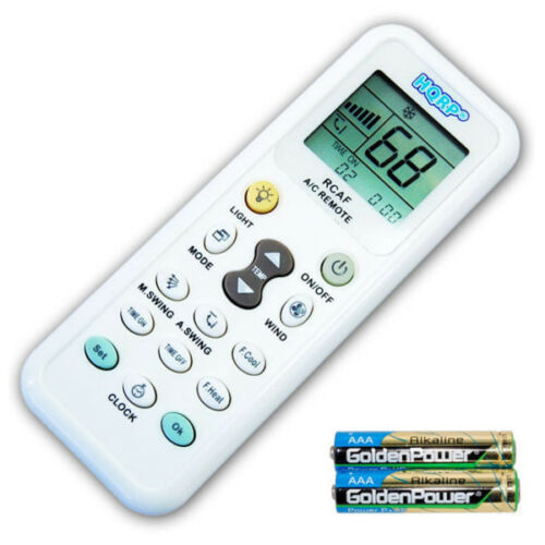 HQRP Remote Control for LG Conditioner LWHD8008R LW1210HR LP6000ER