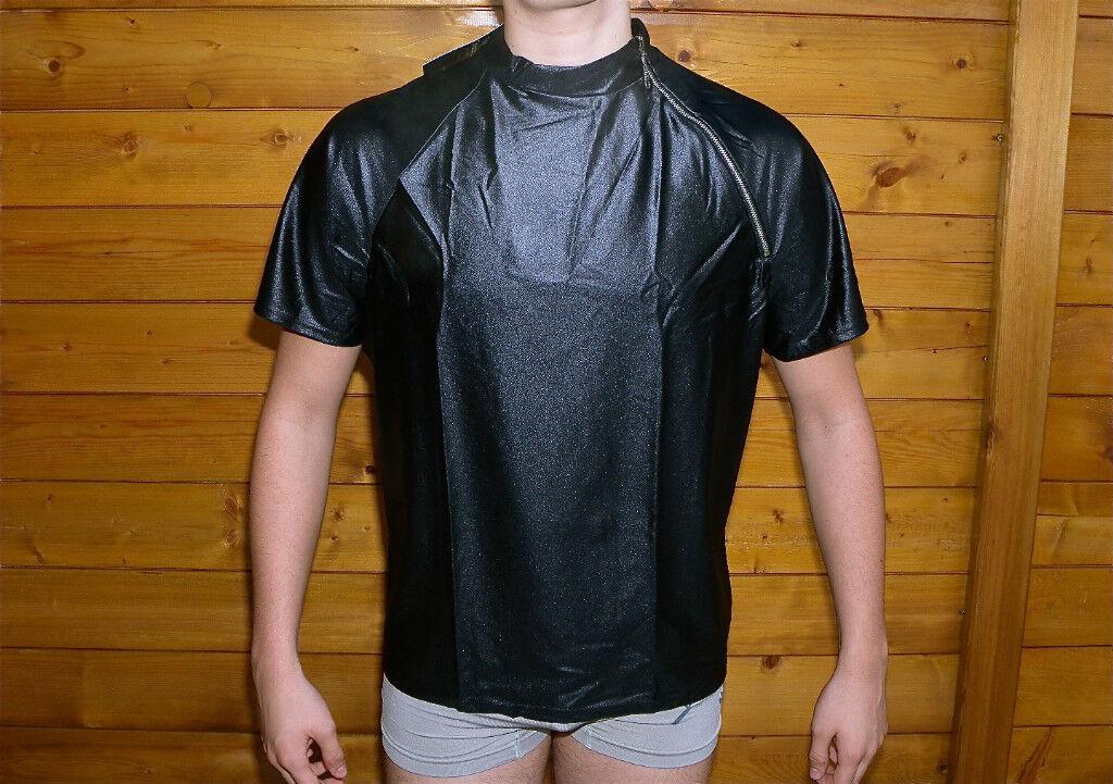 Maglietta con cerniera lycra gay CATANZARO misura 1 XS di alta qualità ETICHETTA
