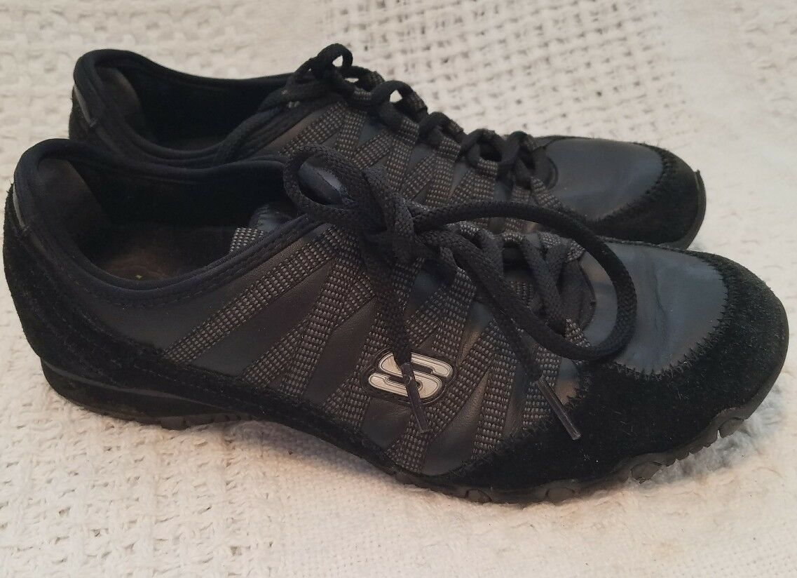 Womens black lace up skechers shoes size 7 The most popular shoes for men and women