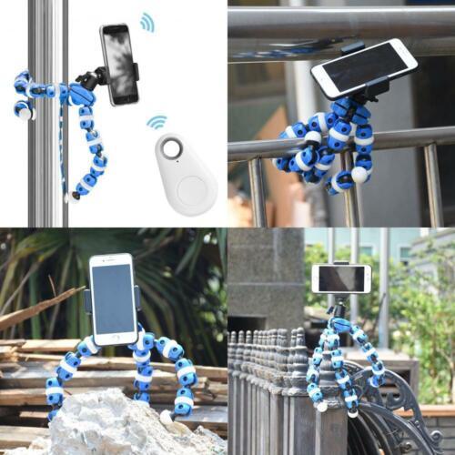 Lightweight Mini Webcam Tripod for Logitech C920 C922 Distort-Blue