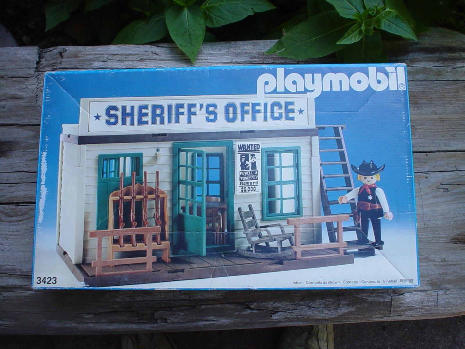 spelabilen 1984 årgång Western Town Sherrif s kontorsfängelse, en ägare, mycket trevlig