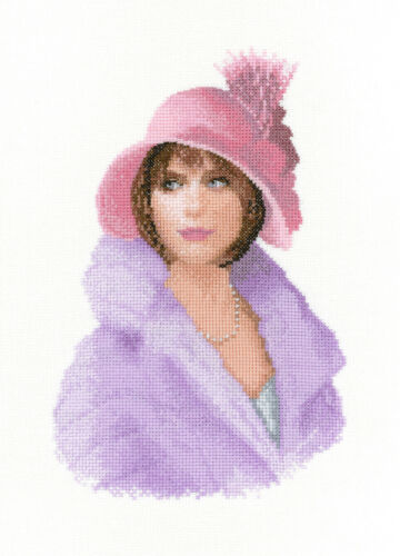 Heritage Crafts Elegance Cross Stitch Kit-Harriet