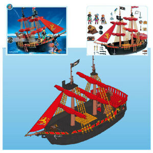 Watercraft Toys & Games Playmobil Blackbeards Pirate Ship 4424