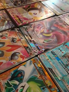 Pokemon-Tarjeta-Lot-10-oficial-Trading-Card-Game-Tarjetas-Ultra-Raro-incluido-GX-EX-V-o-secreta