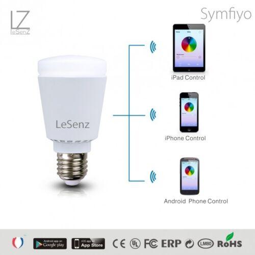 LeSenz Simfiyo Bluetooth LED Beleuchtung 7 Watt iPhone Steuerung  WOW  NEU OVP