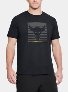 Under-Armour-Mens-UA-Project-Rock-Brahma-Bull-Vanish-T-Shirt-Dwayne-Johnson-Tee