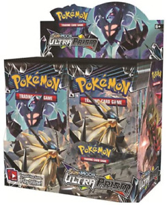 Sun & Moon Ultra Prism 36 ct Booster Box NEW SEALED Pokemon TCG