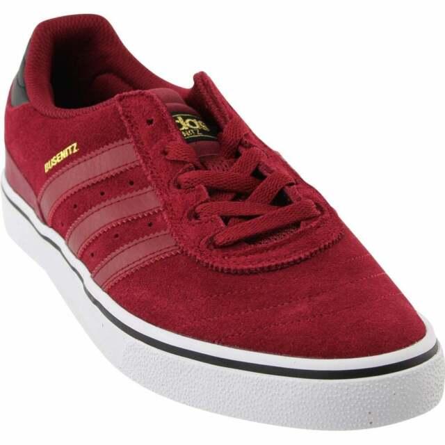 adidas Busenitz Vulc Adv Sneakers Casual Skate  Sneakers Burgundy Mens - Size 8