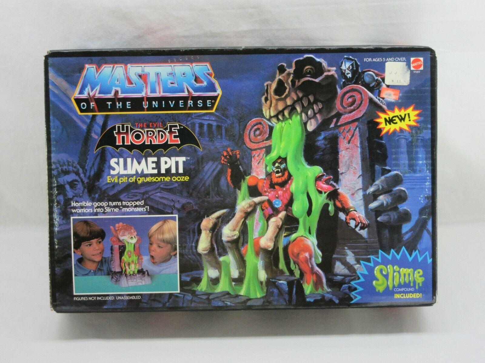 MOTU,Vintage SLIME PIT,Masters of the Universe,MISB,MOC,sealed,He uomo