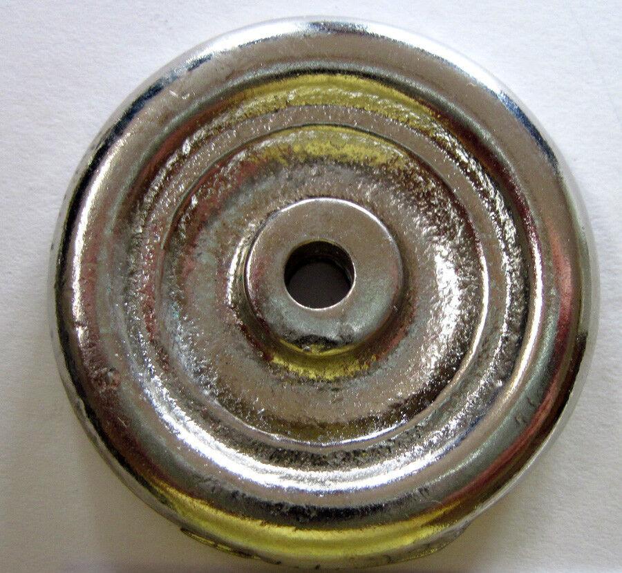 Hubley vehicle  replacement cast metal 1  9 16   diameter Disc wheel