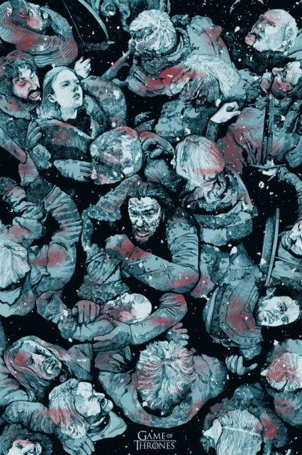 KIT HARRINGTON GAME OF THRONES JON SNOW Poster #2 Multiple Sizes