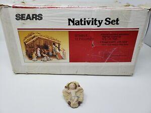 Vintage-Sears-Nativity-Scene-Replacement-Part-Baby-Jesus-Figure