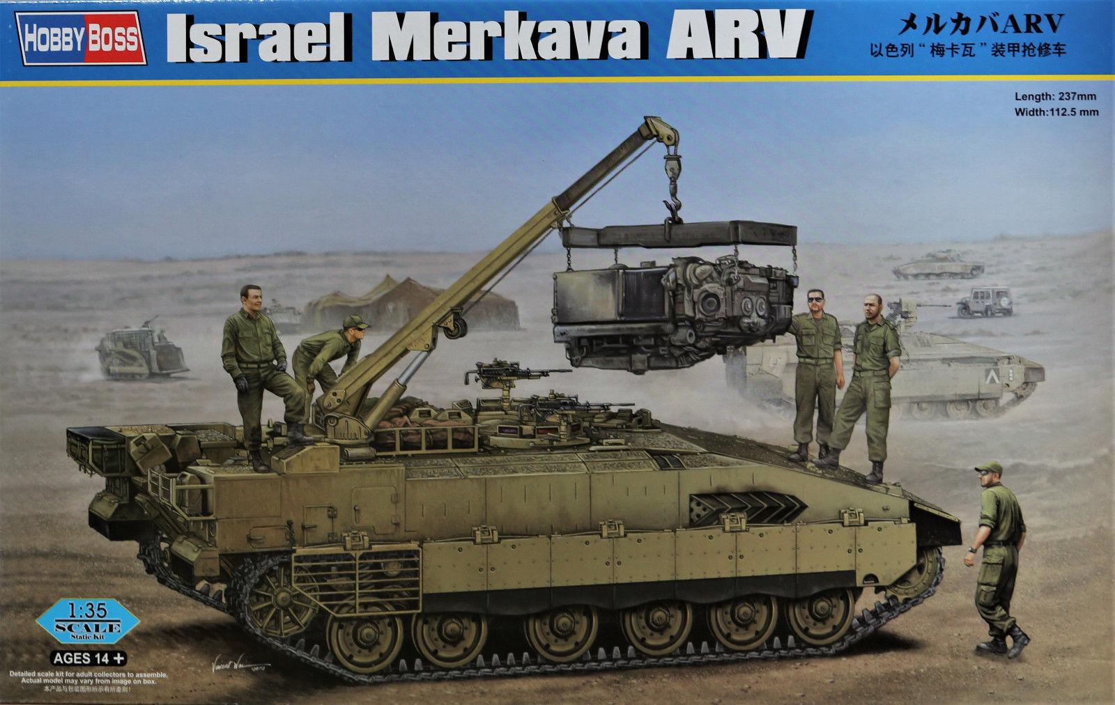 HOBBYBOSS HB82457  Israel  Merkava ARV  in 1 35