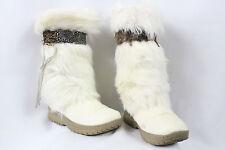 BEARPAW KOLA II Women's Ivory Winter/Snow Boots Size 6 (LOCATION 2-E)