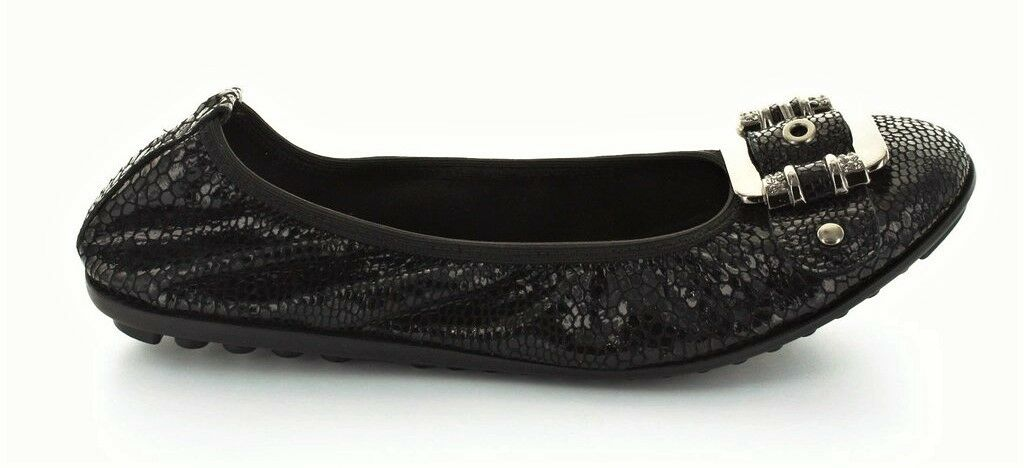 Leder ballet new flats with metal trim new ballet CC resorts Belle 386ccd