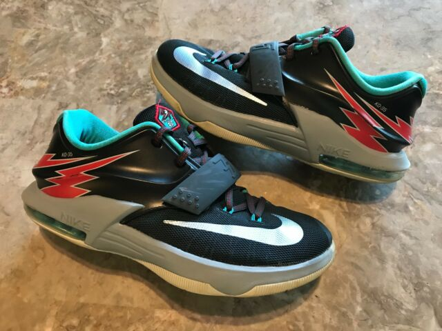 brand new 28a38 9e42e 2015 Nike KD 7 VII GS Flight Classic Charcoal Dove Grey Size 6.5Y  (669942-005)