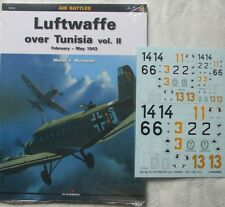 Luftwaffe over Tunisia vol.2  - Kagero Air Battles + Decals  - English!!!