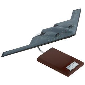 usaf northrop b 2 spirit stealth bomber desk display model 1 100 es
