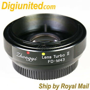 Zhongyi-Lens-Turbo-II-Reducer-Booster-Canon-FD-to-Micro-4-3-Adapter-MFT-OM-D-GH5