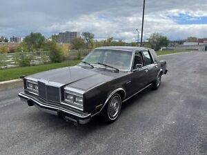 1987 Chrysler Fifth Avenue 5.2L V8 |CERTIFIED| **VINTAGE**