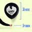 "Gender Reveal 36/"" Confetti Black Balloons Pink Baby Girl Blue Baby Boy Shower"
